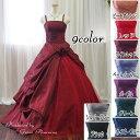 【グローブプレゼント】サイズもカラーも豊富な演奏会、発表会にも最適プリンセスラインのカラードレス ≪
