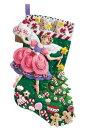 フェルト手芸キット シュガープラムフェアリー クリスマス靴下