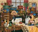 猫のクロスステッチ 刺繍キット Dimensions ちらかし屋マギー Maggie the Messmaker  【05P03Dec16】