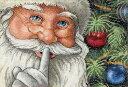 クリスマスのクロスステッチ 刺繍キット Dimensions サンタの秘密 Santa's Secret