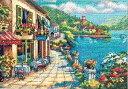 クロスステッチ 刺繍キット Dimensions カフェからの見晴らし Overlook Café 【05P28Sep16】