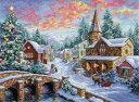 クロスステッチ 刺繍キット Dimensions クリスマス ホリデー ヴィレッジ Holiday Village メール便(ゆうパケット)送料無料 ディメンションズ
