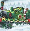 #サンタ エクスプレス Dimensions クロスステッチ 刺繍キット クリスマス Santa Express 08918 ゆうパケット送料無料 ディメンションズ