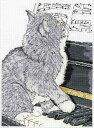 クロスステッチ 刺繍キット 猫の刺繍 Design Works デザインワークス ピアノキャット メール便(ゆうパケット)送料無料 【05P03Dec16】