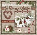 メール便送料無料 フランスのクロスステッチ 刺繍図案 古いシャレー Le Vieux Chalet マダム ラ フェ Madame La Fee クリスマス
