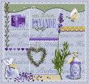 フランスのクロスステッチ 刺繍図案 ラベンダー Un Brin de Lavande マダム ラ フェ Madame La Fee 【05P03Dec16】