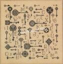 Rosewood Manor クロスステッチ 刺繍図案 KEYS TO THE KINGDOM ローズウッドマナー アルファベット付き