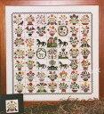 Rosewood Manor クロスステッチ 刺繍図案 EMILY MUNROE QUILT ローズウッドマナー アルファベット付き