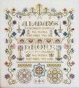 Rosewood Manor クロスステッチ 刺繍図案 ALWAYS REMEMBER ローズウッドマナー アルファベット付き