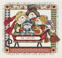 クリスマス クロスステッチ 刺繍キット Janlynn 家族は永遠