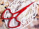 刺繍ハサミ レッドホット 手芸 糸切り 刺繍 鋏