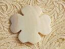 白蝶貝の糸巻き ケルティック フラワー マザーオブパール シェル 手芸 天然貝