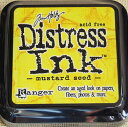 Inkpad [05P17May13] for distress ink 《 mustard seed 》 stamps