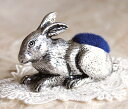 Pewter pincushion 《 rabbit 》【 05P17May13 】 made in the traditional U.K.
