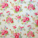 Cath Kidston cloth [oilcloth 】《 spray flower white 》【 05P17May13]