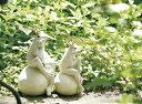 ガーデンオーナメント 【フロッグL】カエル