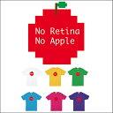 【メール便 送料無料】No Retina No Apple 4.0オンス ライト Tシャツ/全6色後払い コンビニ