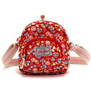 Cath Kidston キャスキッドソン キッズショルダーバッグ 105332616630102 MICRO BACKPACK 105332616630102 STRAWBERRIES AND FLOWERS [..