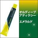 ミルボン オルディーブ アディクシー スタンダードライン エメラルド 80g/emerald/カラー剤/1剤/1液/業務用/ヘアカラー