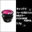 キャンアイ CanI フォーカス 彩 ジェル MAカラー #534 BASIC PURPUL 3.5gジェルネイル/JNA/協会/プロ/セルフ/ネイル/ネイルサロン/UV/LED