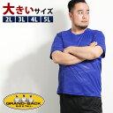 【大きいサイズ・メンズ】ミズノ/MIZUNO ソーラーカットTシャツ  グランバック 大きいサイズ