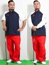 【限定商品】【大きいサイズ・メンズ】ルコックスポルティフ ゴルフ/le coq sportif GOLF レインウェア(上下セット)  グランバック 大きいサイズ