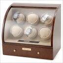 [あす楽][送料無料!] ロイヤルハウゼン Royal hausen ワインディングマシーン [SD90326] 木目調 高級ワインダー 腕時計 6本用+4本収...