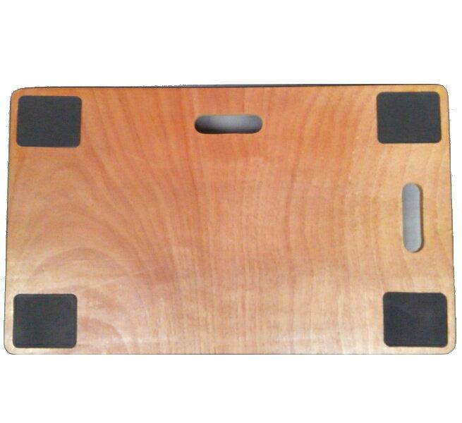 木製平台車 460×760 安心の滑り止め付き