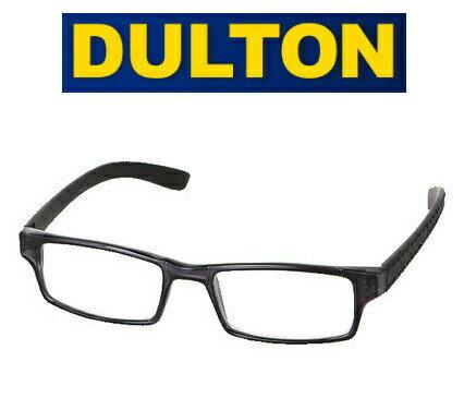 DULTON ダルトン 老眼鏡 リーディンググラス / YGF71SBK ブラック 黒色 スクエアタイプ READING GLASSES BLACK 男性用 女性用 男性におすすめ おしゃれ シニアグラス 老眼鏡