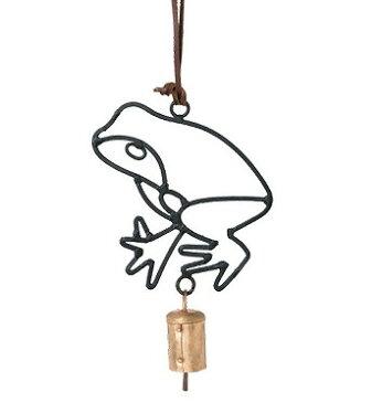 アンティーク風 アイアンベル かえる カエル 蛙 ドアベル|玄関チャイム|ベル|チャイムアイアン|アンティーク|雑貨