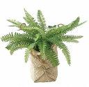 デコ イミテーション スワッグ DECOR IMITATION FERN A IN BAG TADY7020 造花 inポット インテリアグリーン 人工観葉植物 フェイクグリーン 造花 おしゃれ ガーデニング