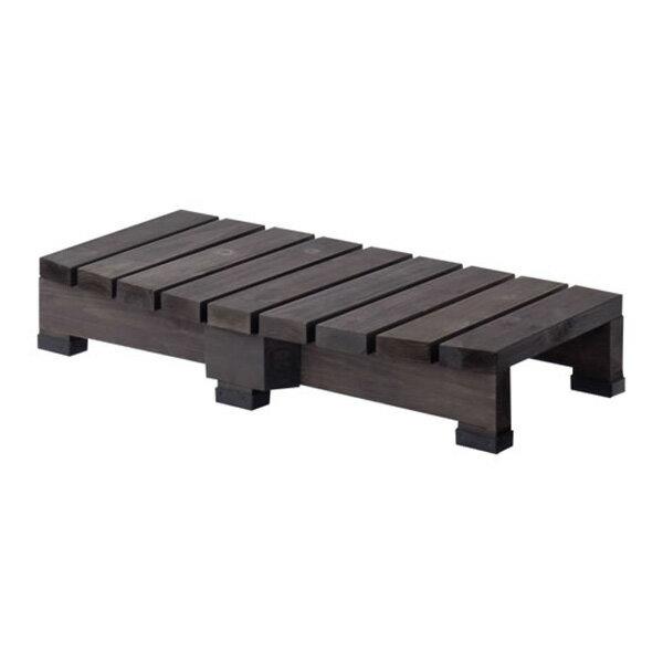 最大1500円OFFクーポン配布中デッキ縁台ステップ90[ガーデニングガーデンベンチ木製収納庫物置き