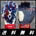 【送料無料】スパイダーズ ハイブリッド 2017年版 2016年版 大人用 バッティンググローブ 野球 両手 Spiderz HYBRID 2017 2016 Man baseball batting glove USA