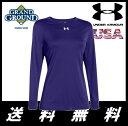 【海外限定】【送料無料】アンダーアーマー チーム ロッカー ロングスリーブ Tシャツ 女性用 野球 ソフトボール Under Armour Team Locker Long Sleeve T-Shirt Women