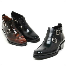 プレミアム牛革ベルトブーツ ブラック ハンドメイド ウエスタン ブーツ、ヒール5.cm、メンズ ハイヒール、5.0cmヒール ブーツメンズ、ウエスタン ブーツメンズ、ウエスタンブーツ、ヒールブーツ メンズ、乗馬ブーツ メンズ