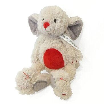 【ハッピーホース ぬいぐるみ ねずみのミーオ】HAPPYHORSE 布のおもちゃ 布製 洗える ネズミプレゼント ギフト■あす楽