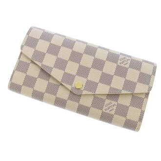 Louis Vuitton long wallet Damier Azur wallet-Sarah N63208 LOUIS VUITTON Vuitton purses