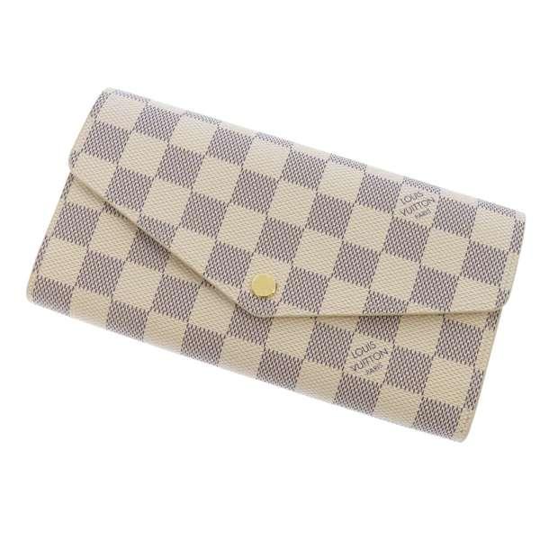 ルイヴィトン 長財布 ダミエ・アズール ポルトフォイユ・サラ N63208 LOUIS VUITTON ヴィトン 財布-1