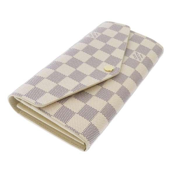 ルイヴィトン 長財布 ダミエ・アズール ポルトフォイユ・サラ N63208 LOUIS VUITTON ヴィトン 財布-2