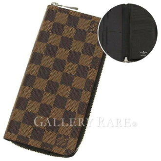 Louis Vuitton long wallet Damier zippy wallet vertical N61207 LOUIS VUITTON Vuitton wallet men