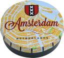 (喫煙具 巻きたばこ)アムステルダム 丸缶ケース (喫煙具・手巻きたばこ用品)
