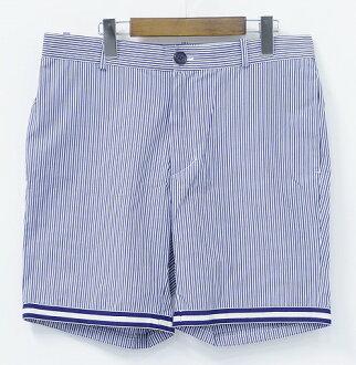 UNDECORATED MAN(andekoreiteddoman)STRIPE SHORTS條紋短褲2 STRIPE短褲半褲子短褲