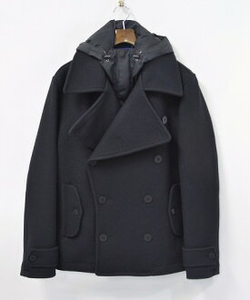 PHENOMENON ( phenomenon ) HOODED P-COAT M フードピー coat PEA COAT