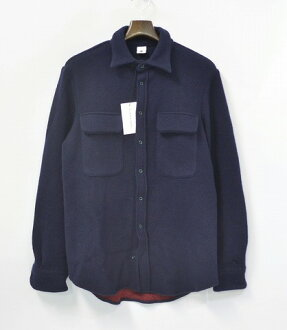 ADAM KIMME (アダムキメル) WOOL CASUAL SHIRT XS