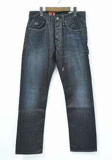 3301 32 G-STAR RAW (G star low) STRAIGHT SLATE DENIM straight denim underwear jeans INDIGO