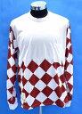 【新品】 SEVESKIG (セヴシグ) × KAWASAKI (カワサキ) L-SL MOTO TEE カットソー (CT-KW-KS-1002) モトTシャツ 長袖T-SHIRT ロンTEE WHITE×RED M コラボ 別注