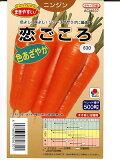 ニンジン種 タキイ交配・・恋ごころ・・<タキイのニンジン種子です。>