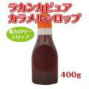 【糖質制限】羅漢果ピュアカラメルシロップ400g 超低