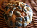 【黒豆ぱん】黒豆の甘煮をたっぷり一面にちりばめた甘さ控えめの和菓子のような菓子パン