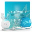 【エクスプレス便】 Cali White Vegan Teeth WHITENING KIT with LED Light ナチュラル オーガニック ホワイトニング歯磨き粉 ホワイトニング 白い歯